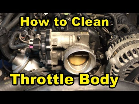 06 wrx how to clean throttle body