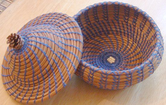 Telephone wire basket instructions