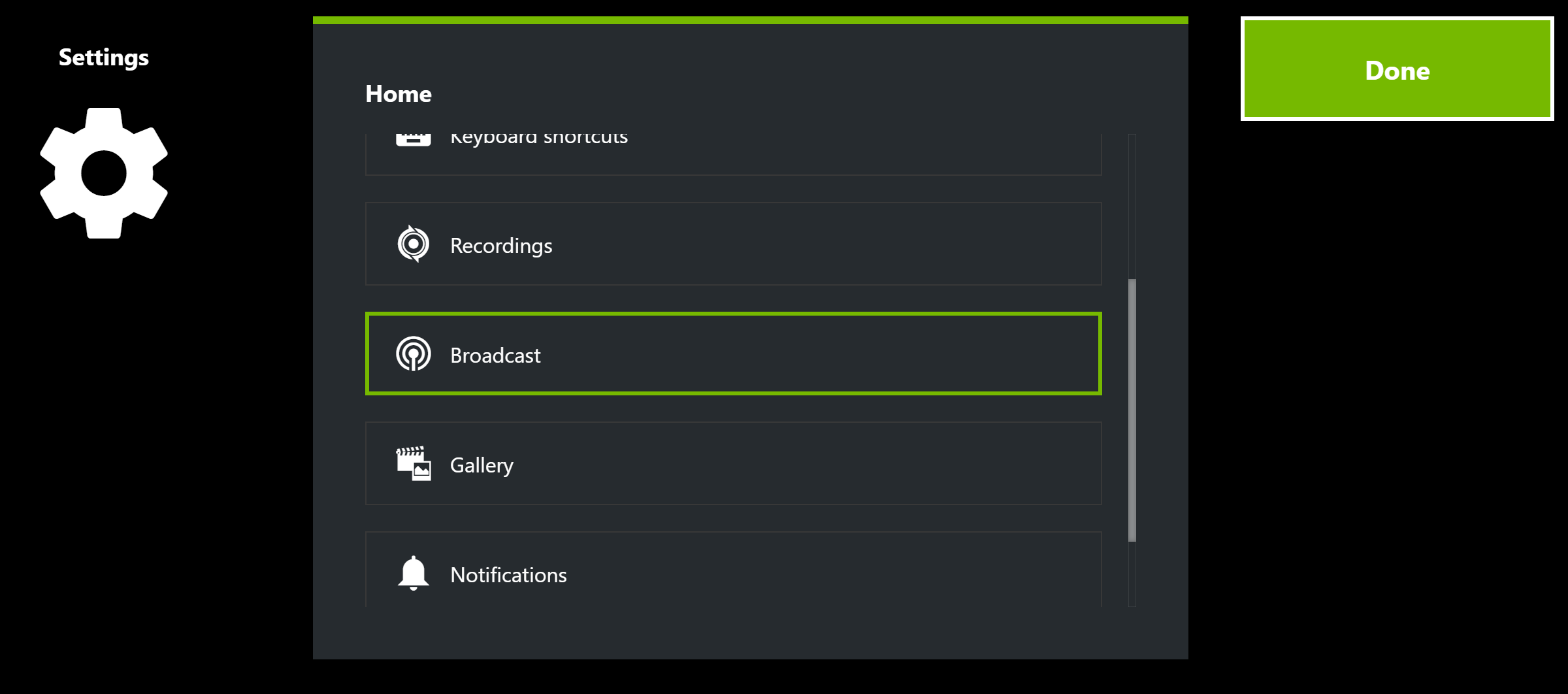 Geforce experience how to change twitch account