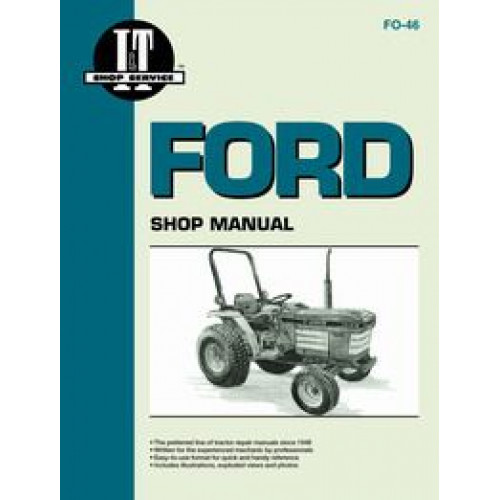Ford tractor model 1920 manual