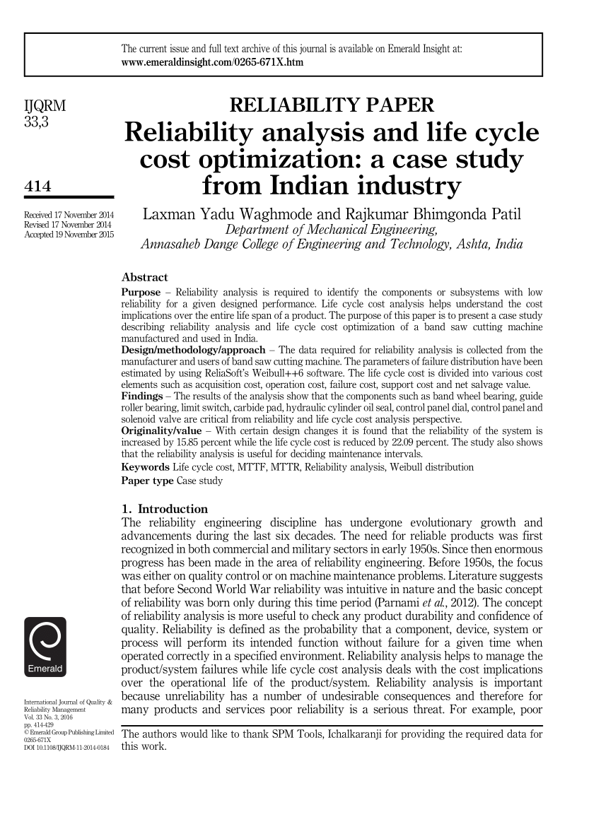 Product life cycle case study pdf