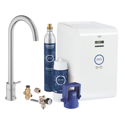 Grohe blue chilled and sparkling manual