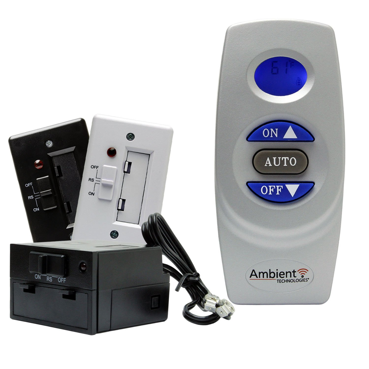 ambient gas fireplace remote control manual