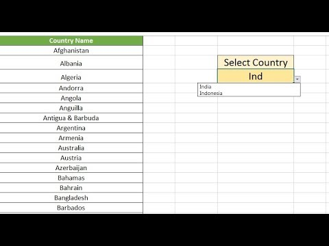 Google drive excel how to create drop-down list