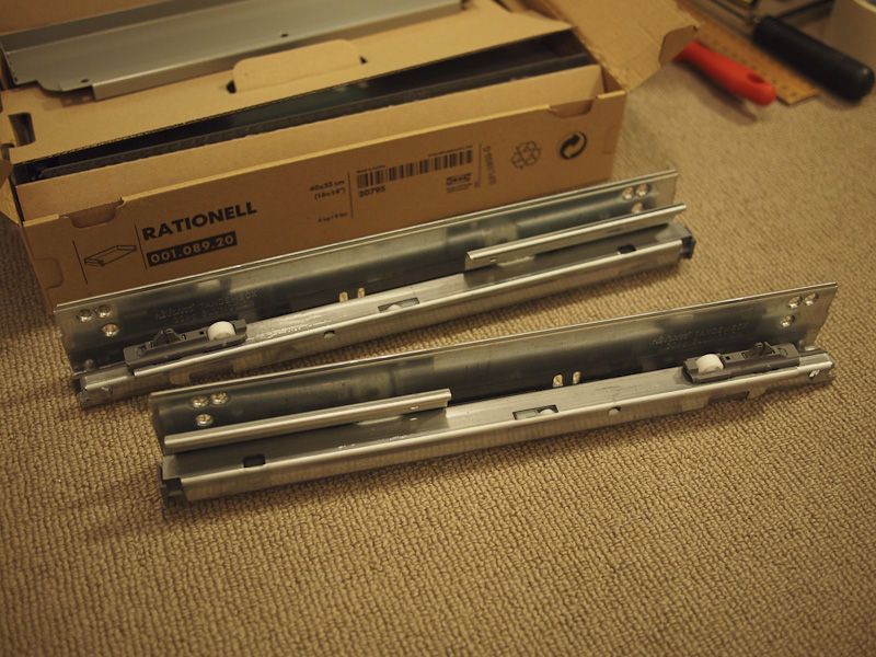 ikea rationell drawer damper instructions