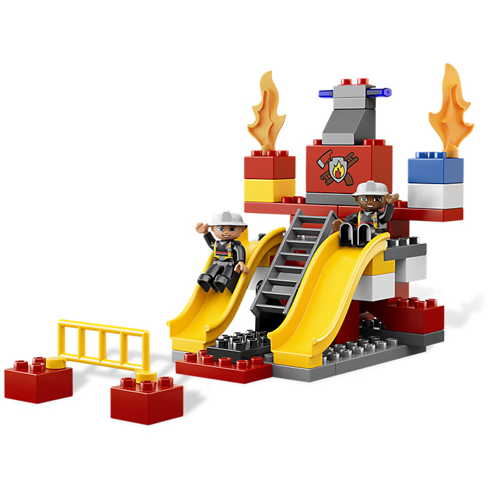 Duplo fire station instructions 6168