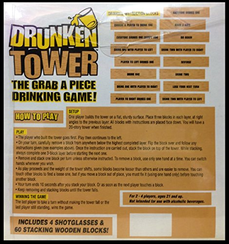 Jenga drinking game how to play