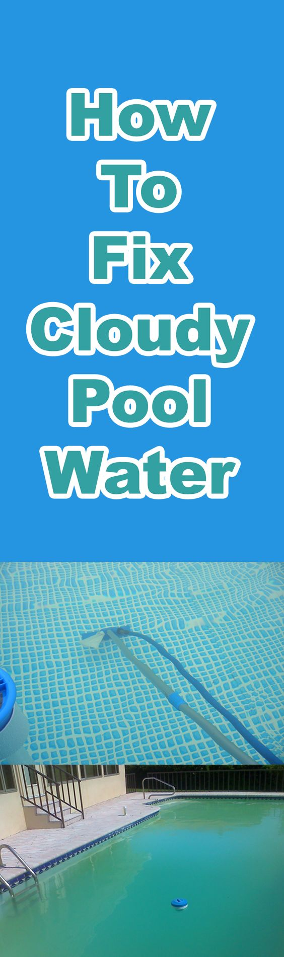 Cloudy tap water how to fix