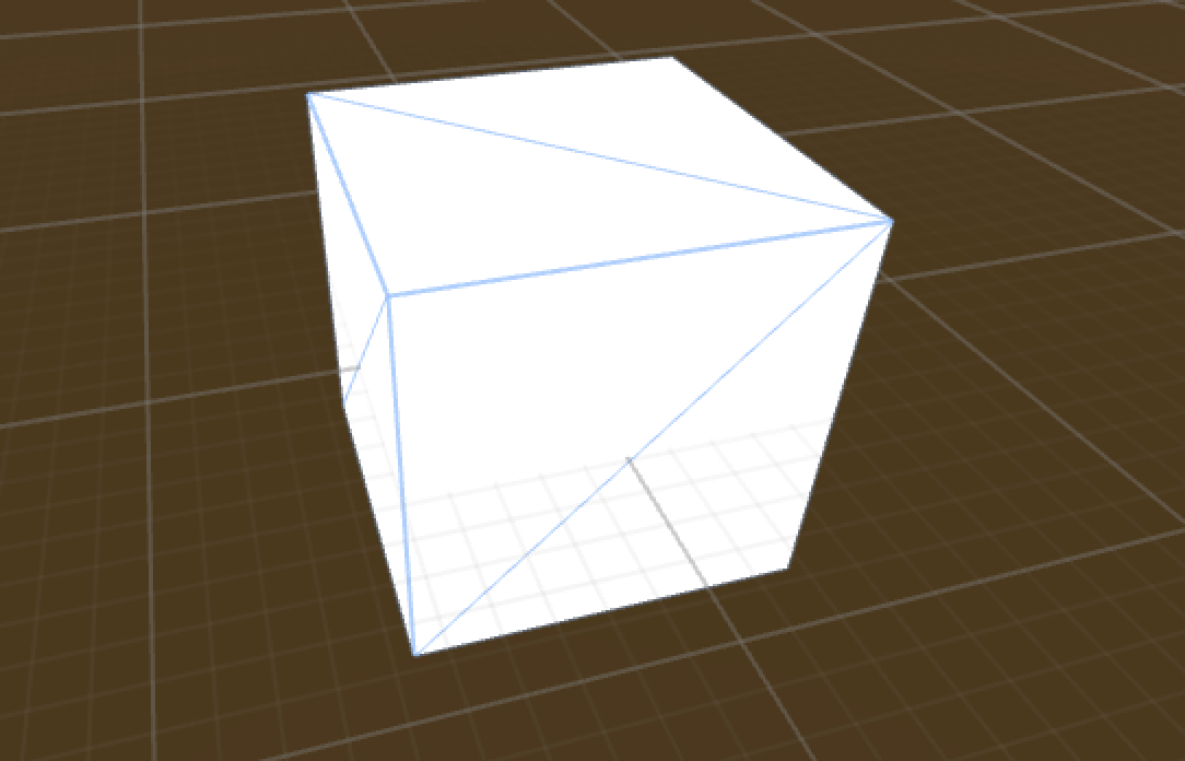 Unity how to make cube transparent