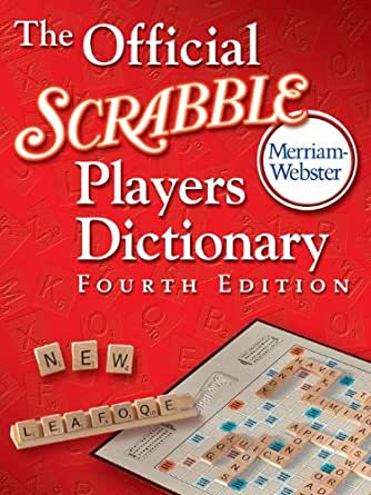 Collins scrabble dictionary which edition
