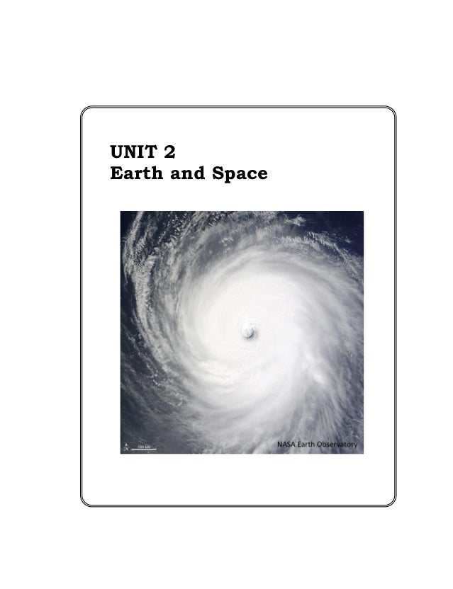 Grade 8 science teachers guide unit 2 earth and space
