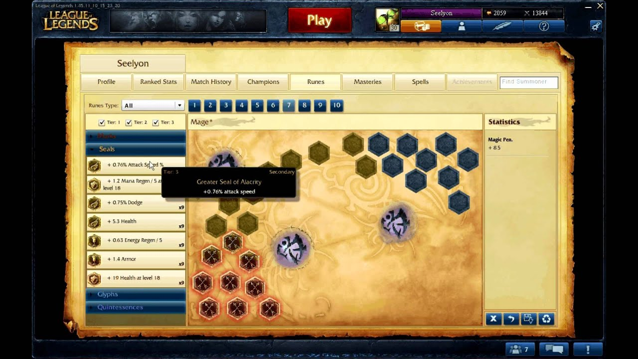 Lol how to add rune page
