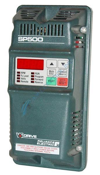 reliance electric vs drive sp500 manual