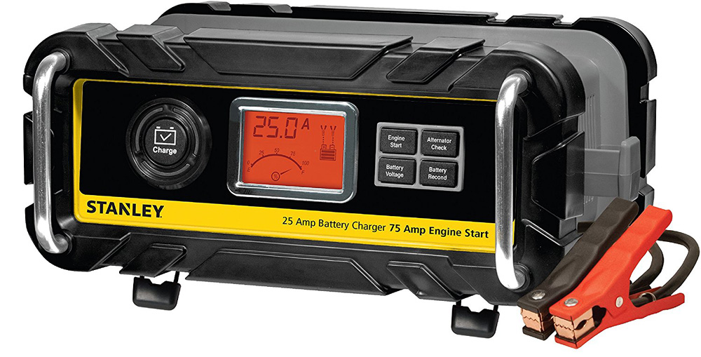 Stanley 25 amp battery charger manual